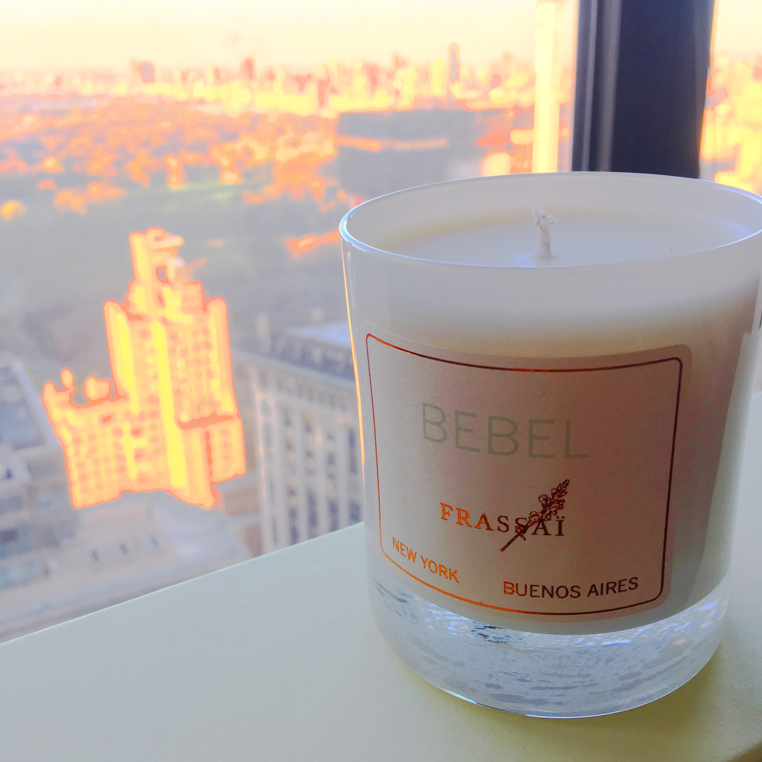 Bebel in NYC - scented candle inspired by the sounds of Brazilian bossa nova
