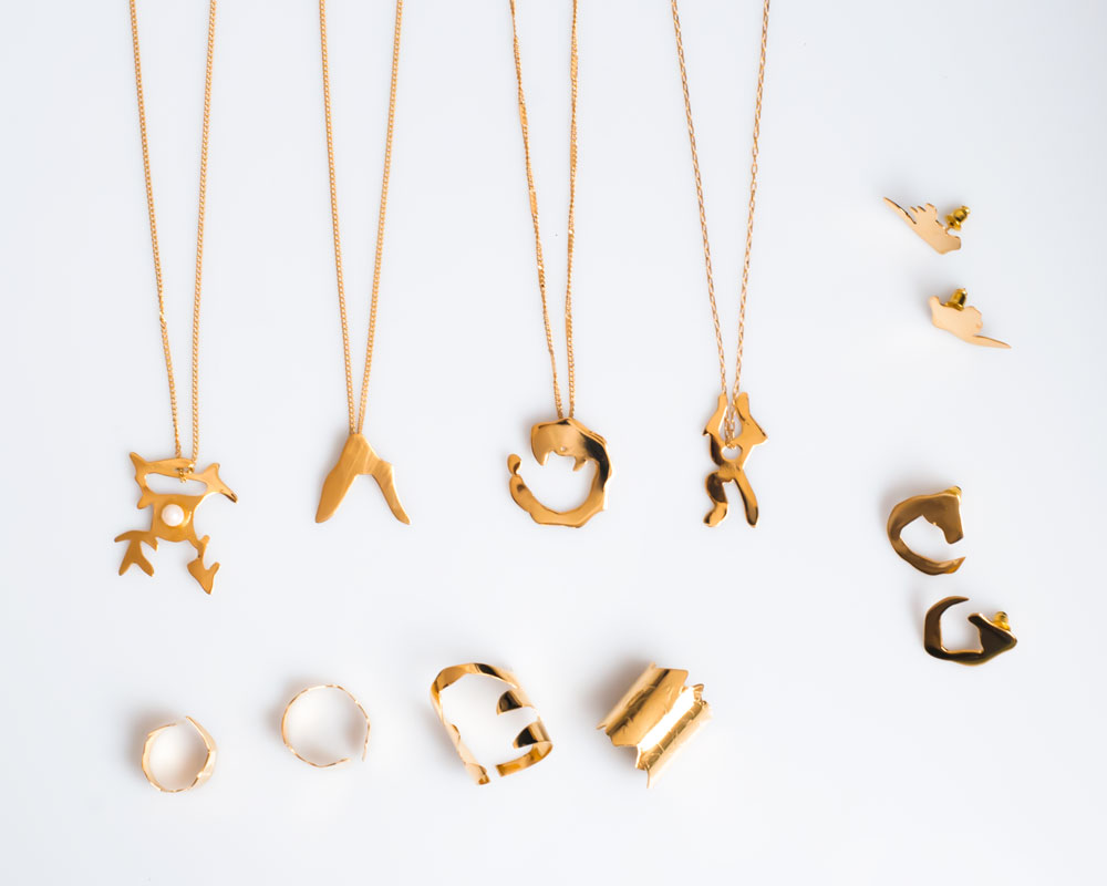 Nüwa Gold Jewelry Collection by Frassaï