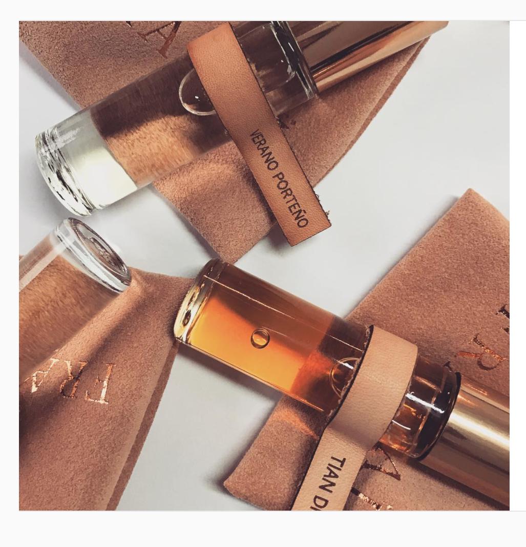 Frassaï Perfumes L'Officiel Argentina