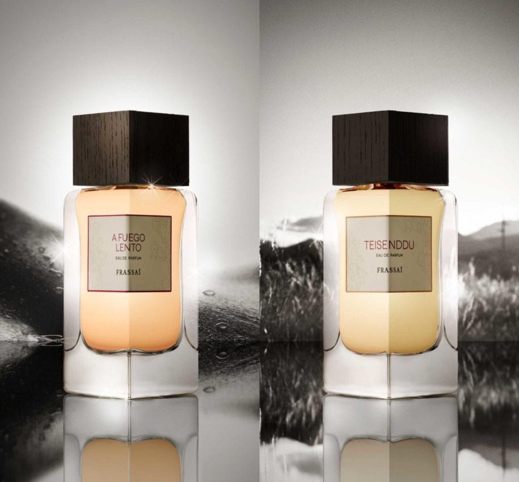 Frassai new perfumes A Fuego Lento and Teisenddu