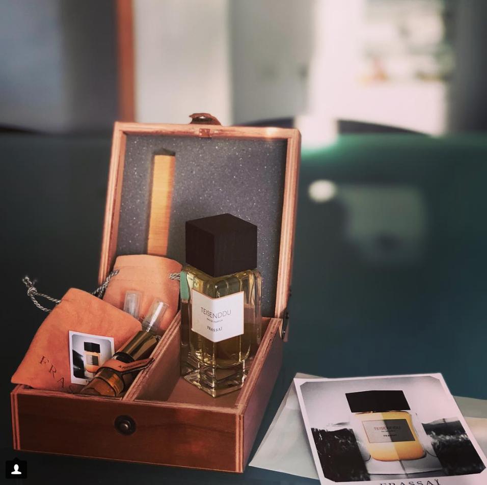 Teisenddu Perfume photo by Roxanne Kirkpatrick