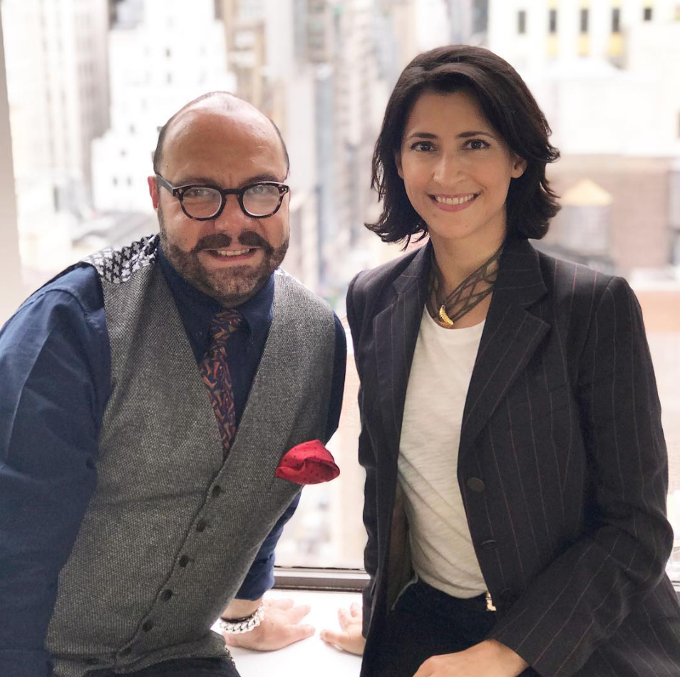Natalia Outeda & Rodrigo Flores Roux FRASSAI perfume - Buenos Aires meets New York