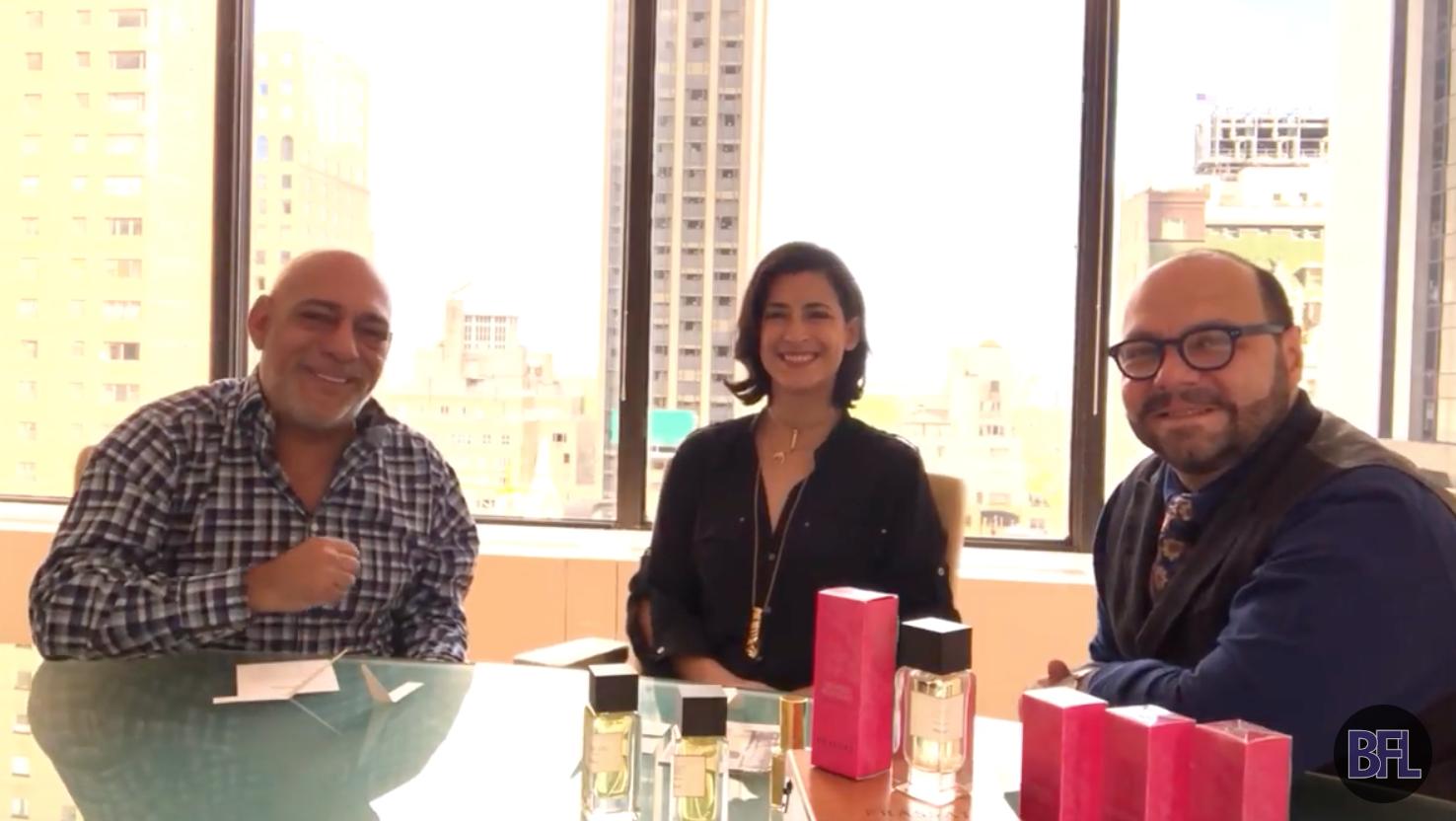 BFL Carlos Powell interviews FRASSAI founder Natalia Outeda and nose Rodrigo Flores-Roux