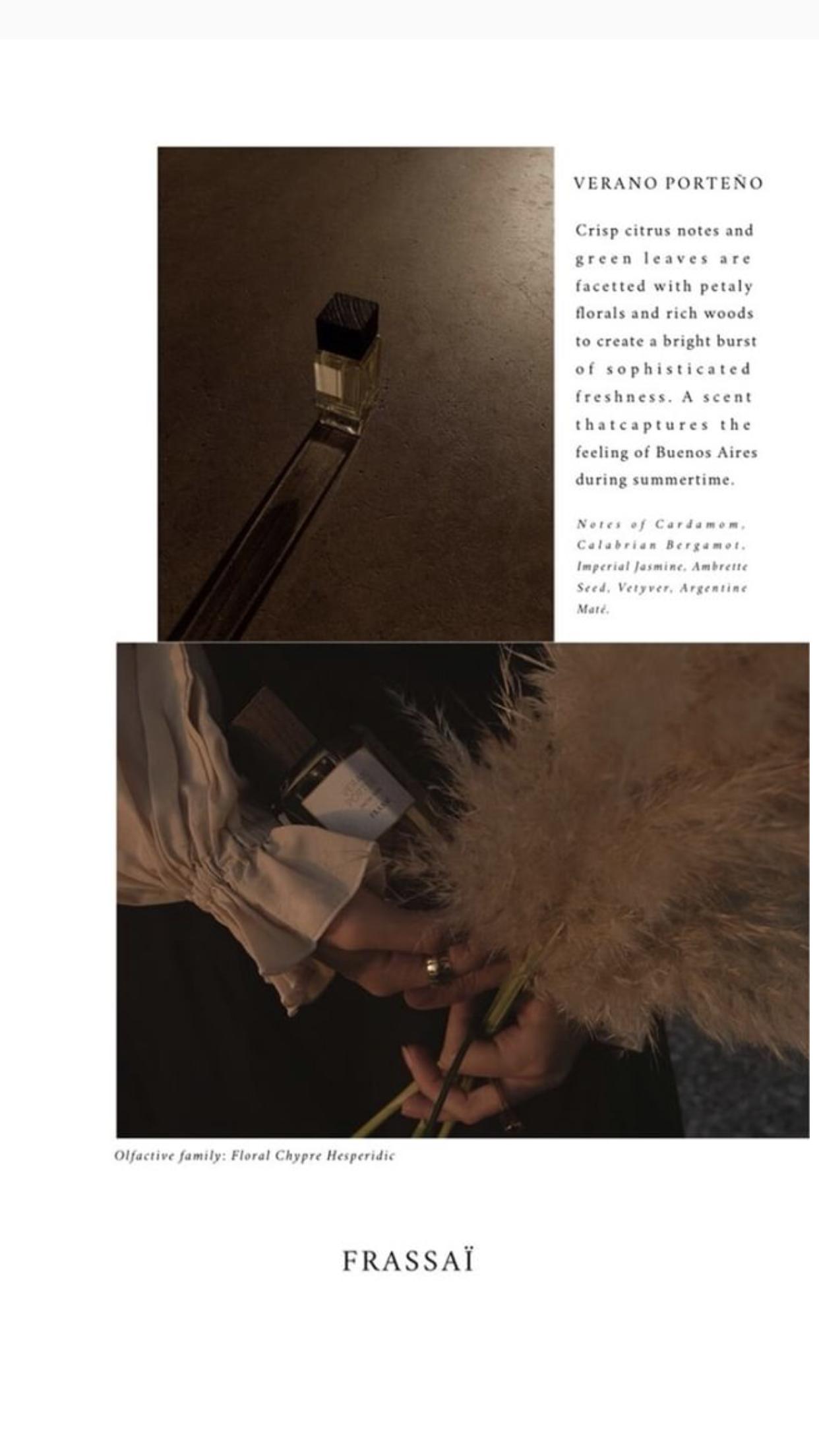 Verano Porteño Eau de Parfum Buenos Aires meets New York