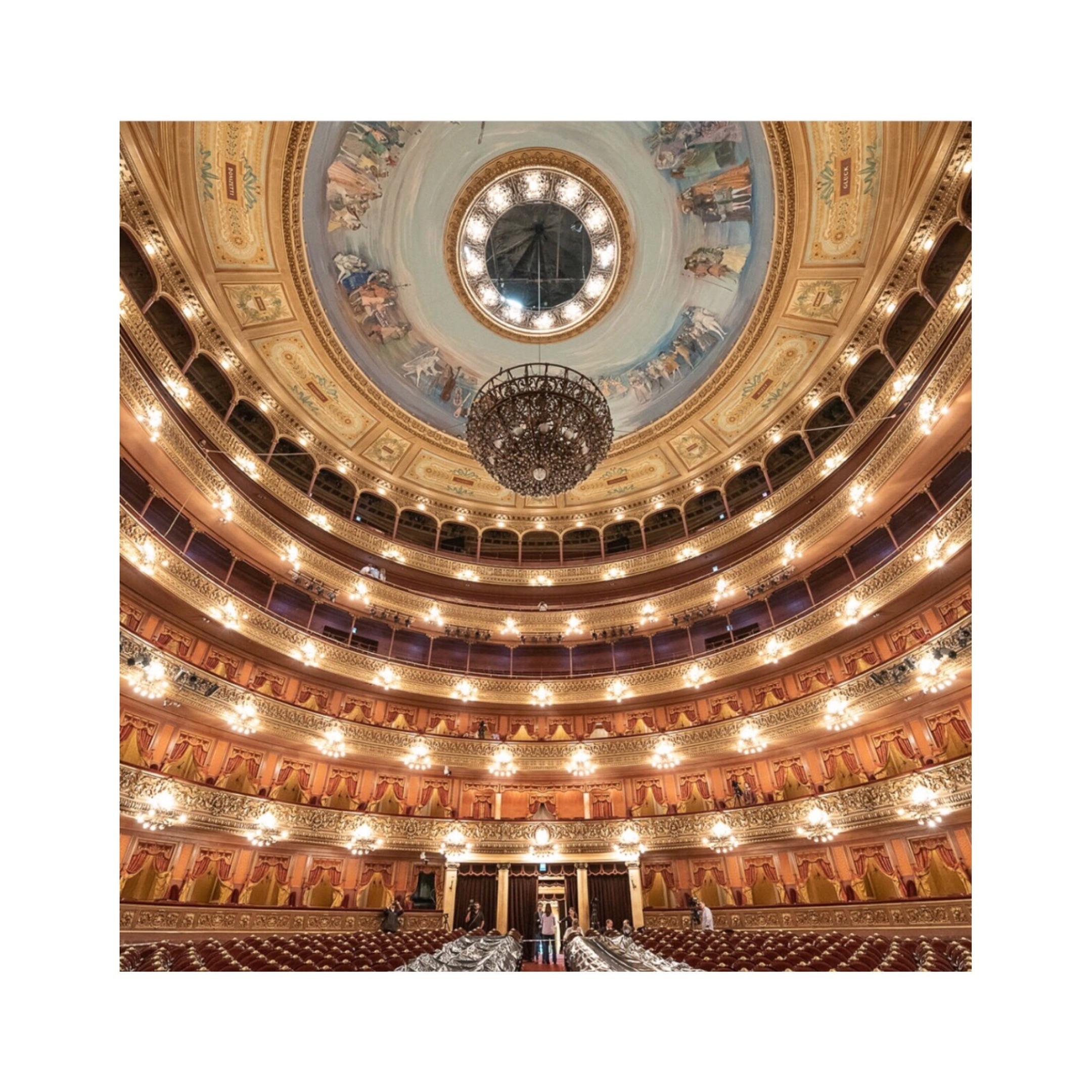 Teatro Colón Buenos Aires, Argentina #sensorialexperience FRASSAÏ #buenosairesmeetsnewyork