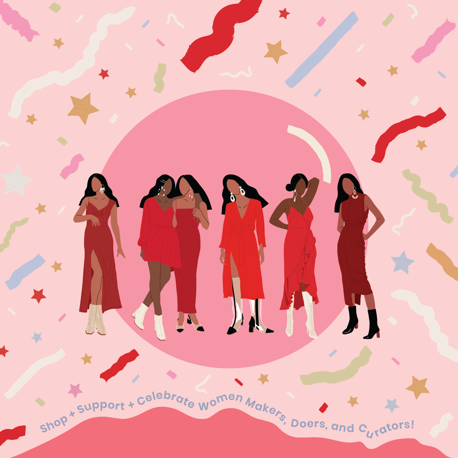 Holiday PopUp We Are Women Owned