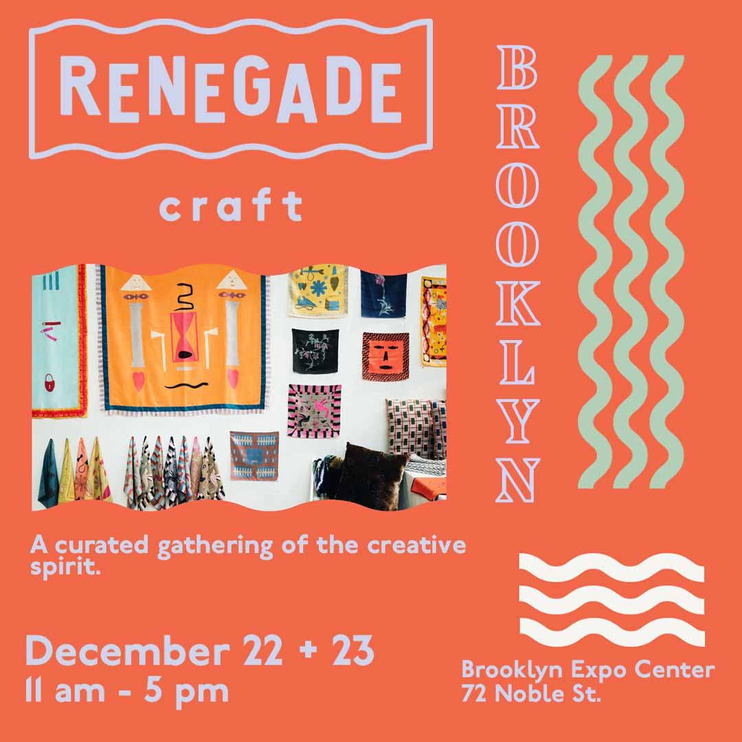 Holiday Fair at Renegade Craft Brooklyn December 2018