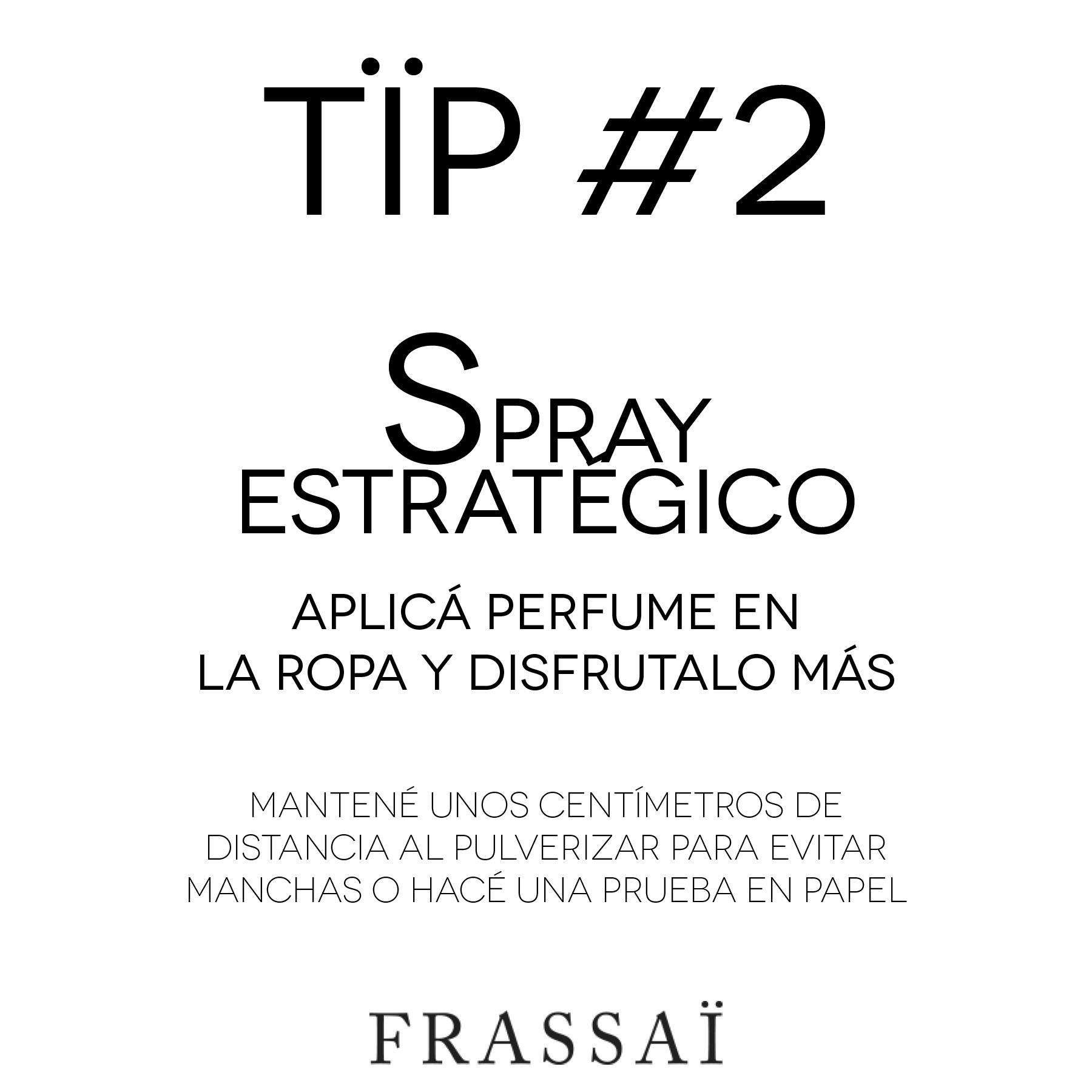 FRASSAÏ TÏP #2: cómo hacer que tu perfume dure más