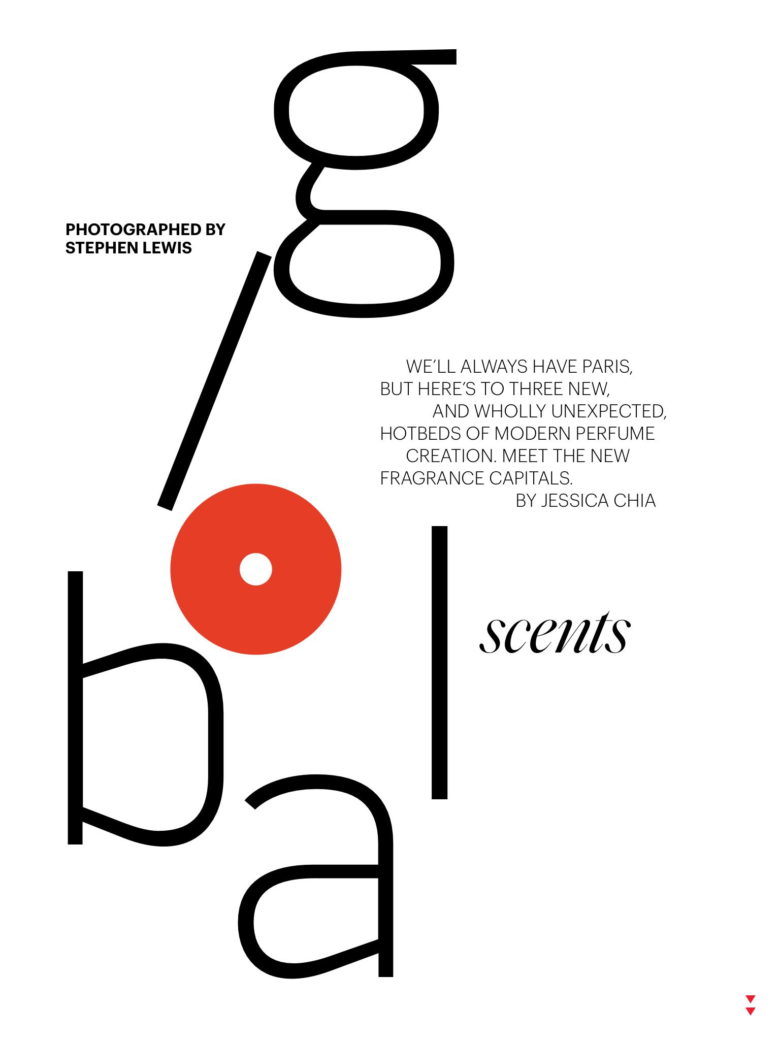 Allure magazine March issue Global Scents - FRASSAI