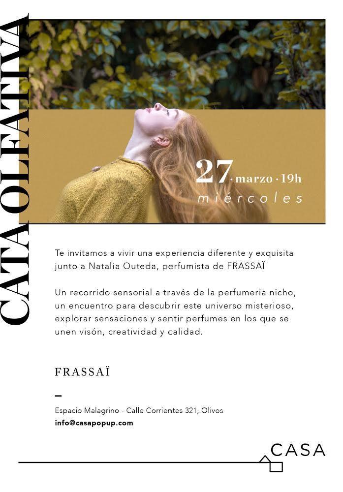 Cata Olfativa Frassai