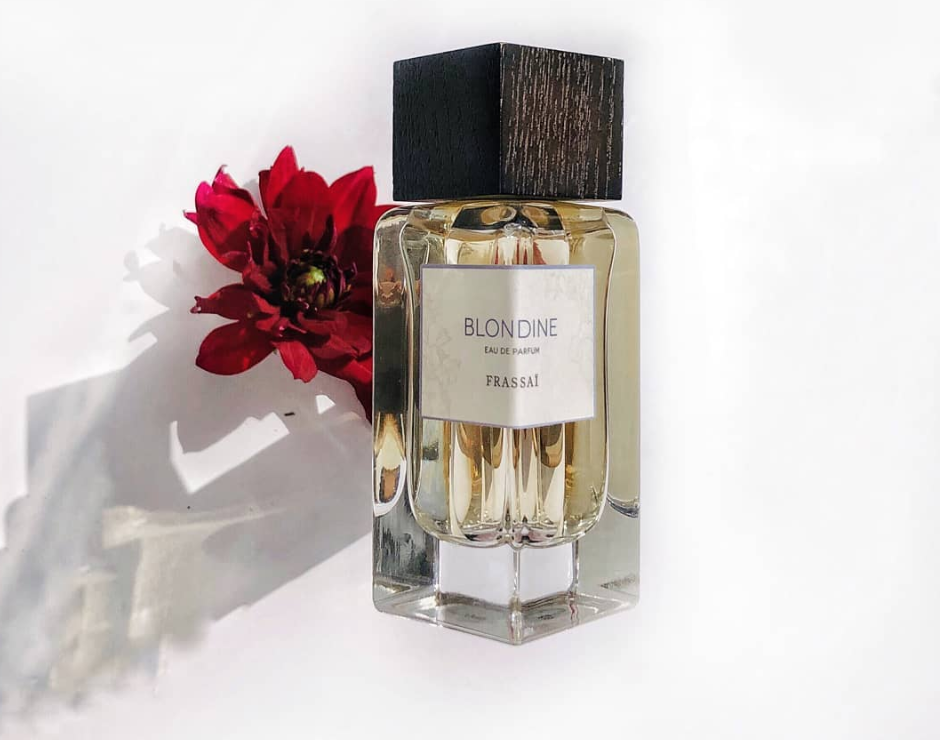 Blondine perfume Frassaï - photo by Aduev K.