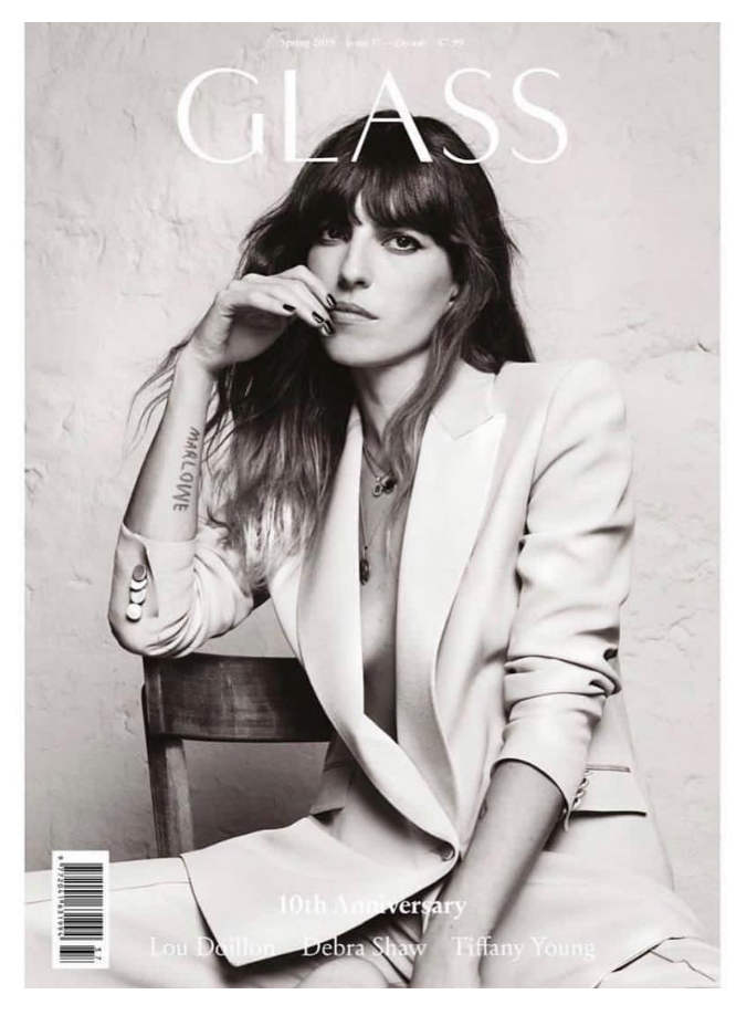 Lou Doillon Glass Magazine Frassai Verano Porteno feature.png