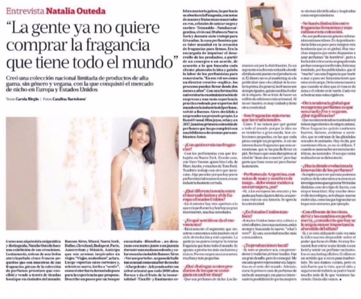 Natalia Outeda La Nacion Agosto 11, 2019