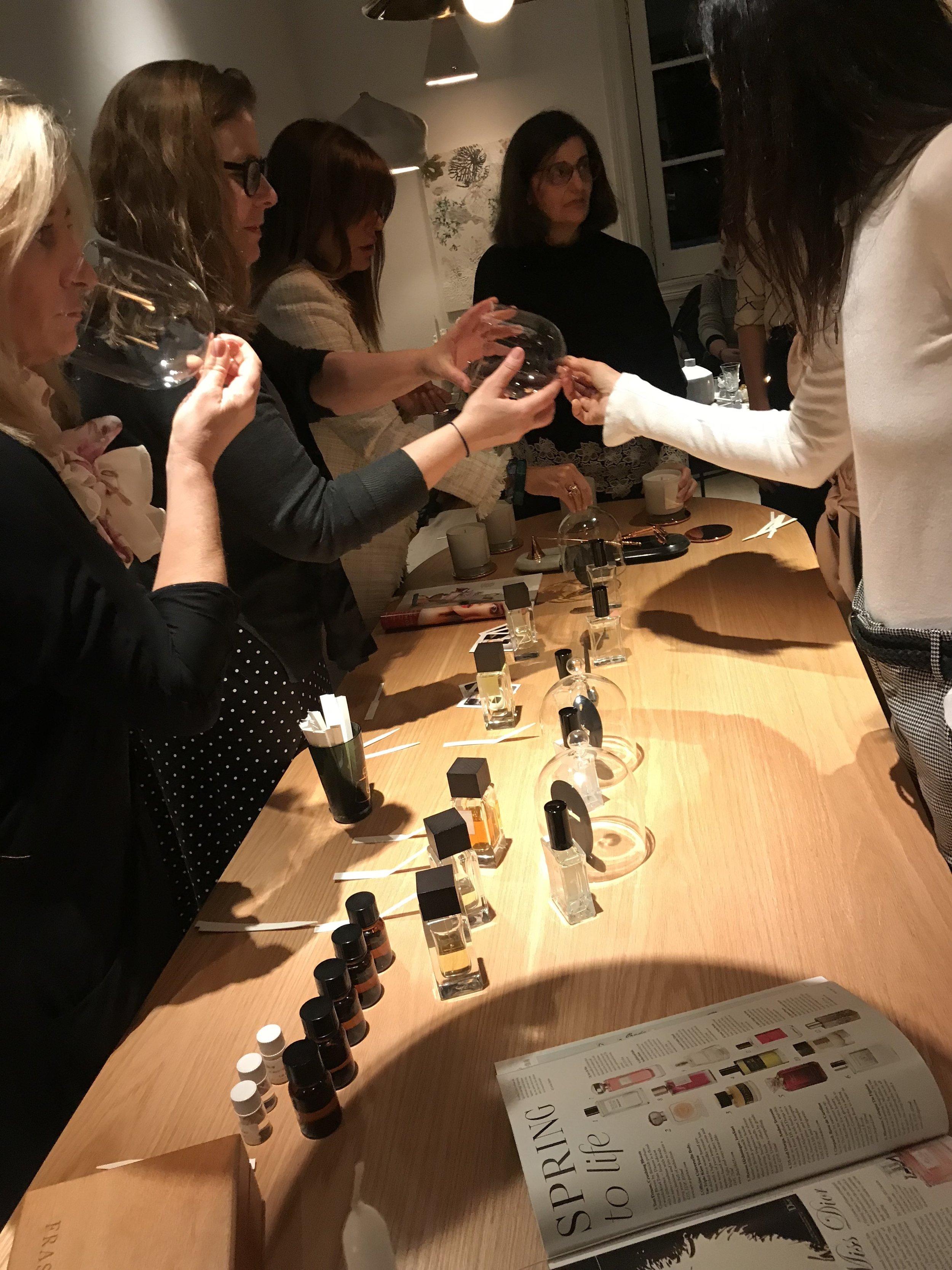 Experiencia Sensorial Frassai & Astor Parfums Buenos Aires
