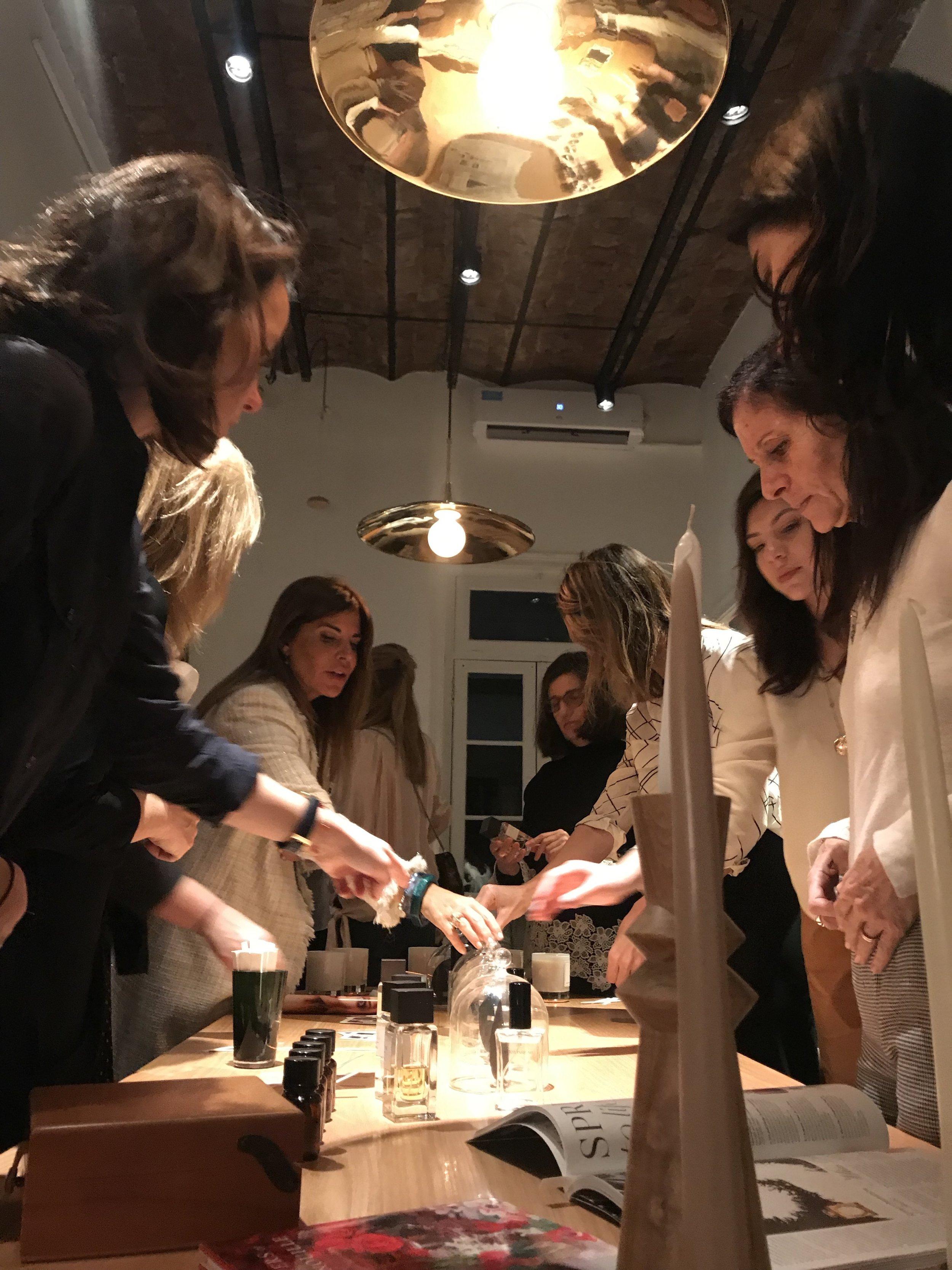 Fragrance Discovery en Barbara Bertone Rue des Artisans