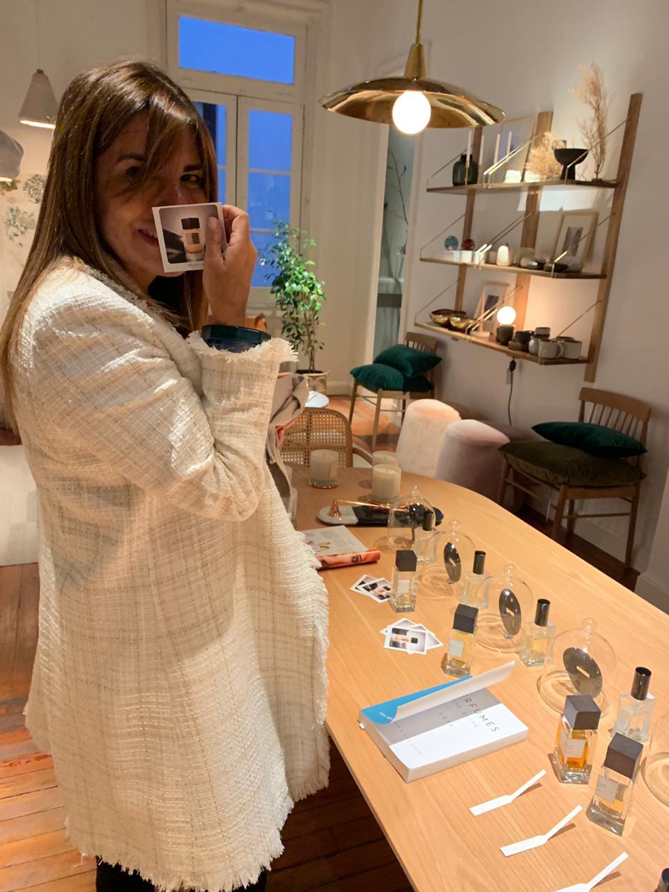 Barbara Bertone Rue des Artisans - Frassai perfumes de autor & Astor Buenos Aires Agosto 2019