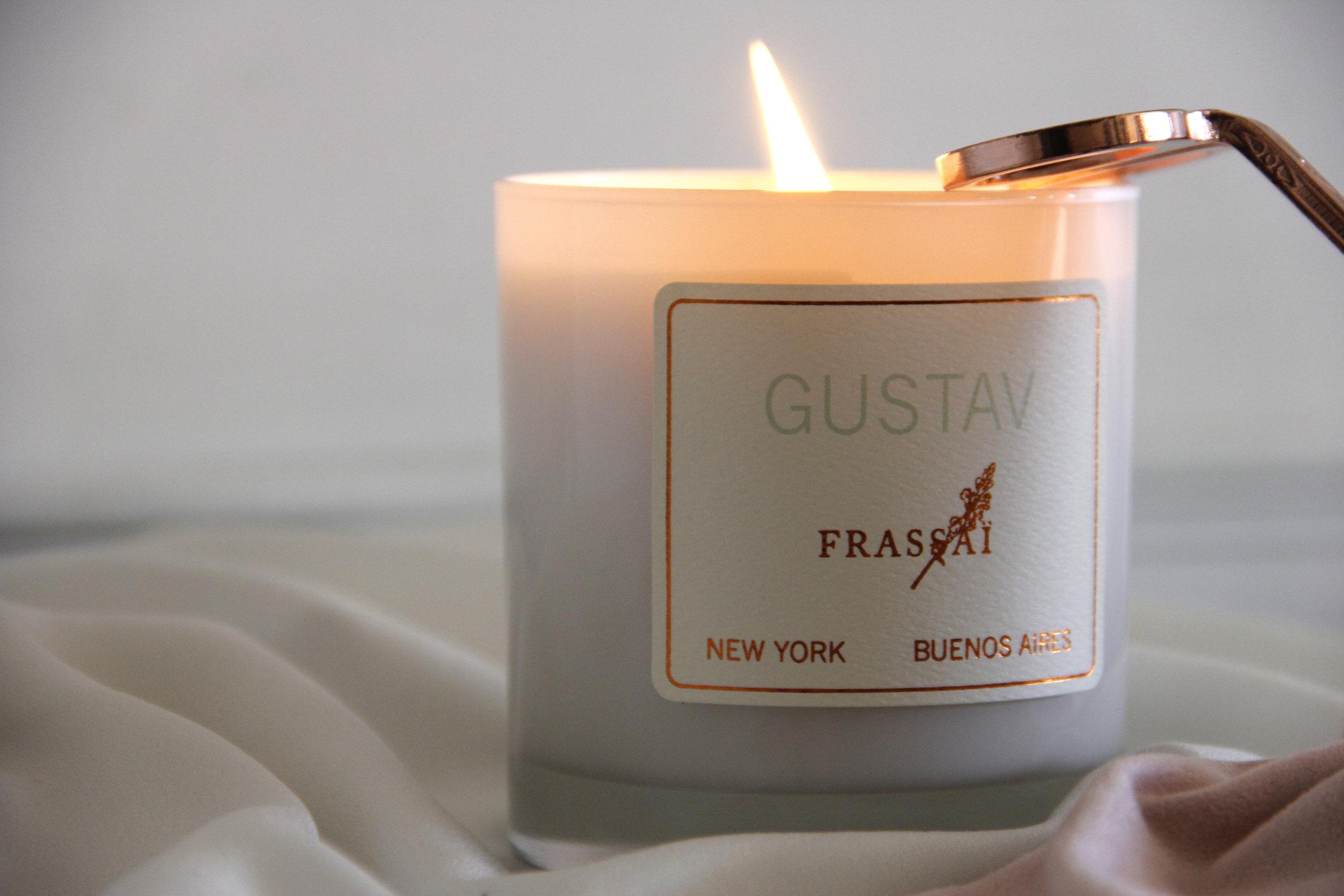 Gustav Scented Candle Frassai Niche Perfumes. Photo: Gigi Martino