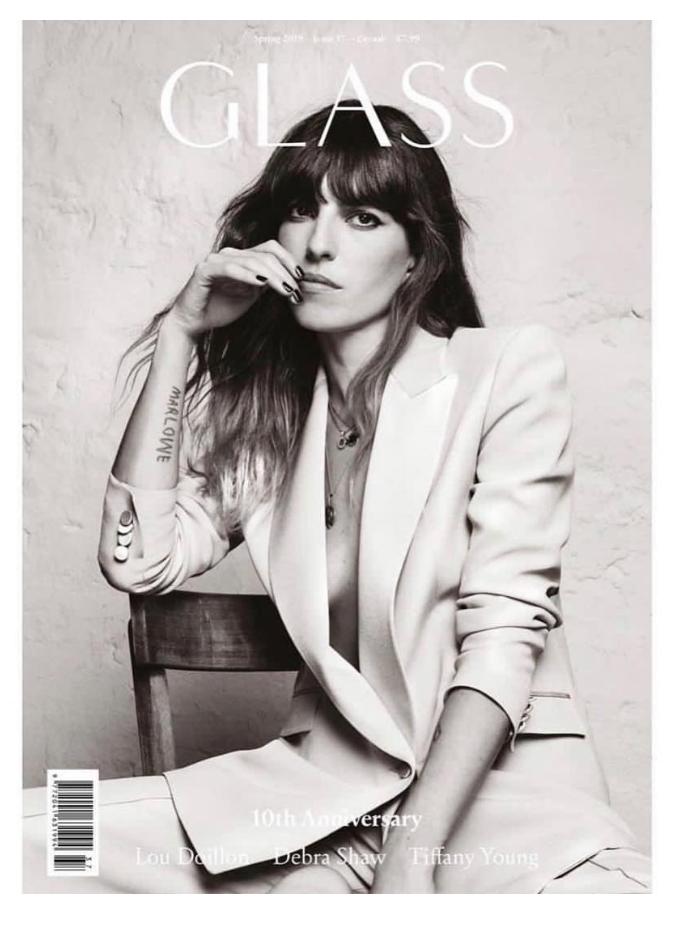 Lou Doillon Glass Magazine Frassai Verano Porteno feature.png