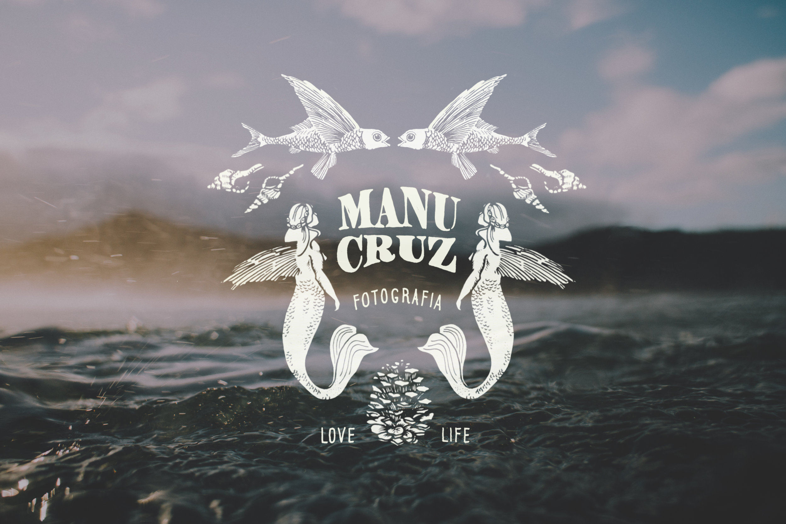Manu Cruz branding by Castelo Studio