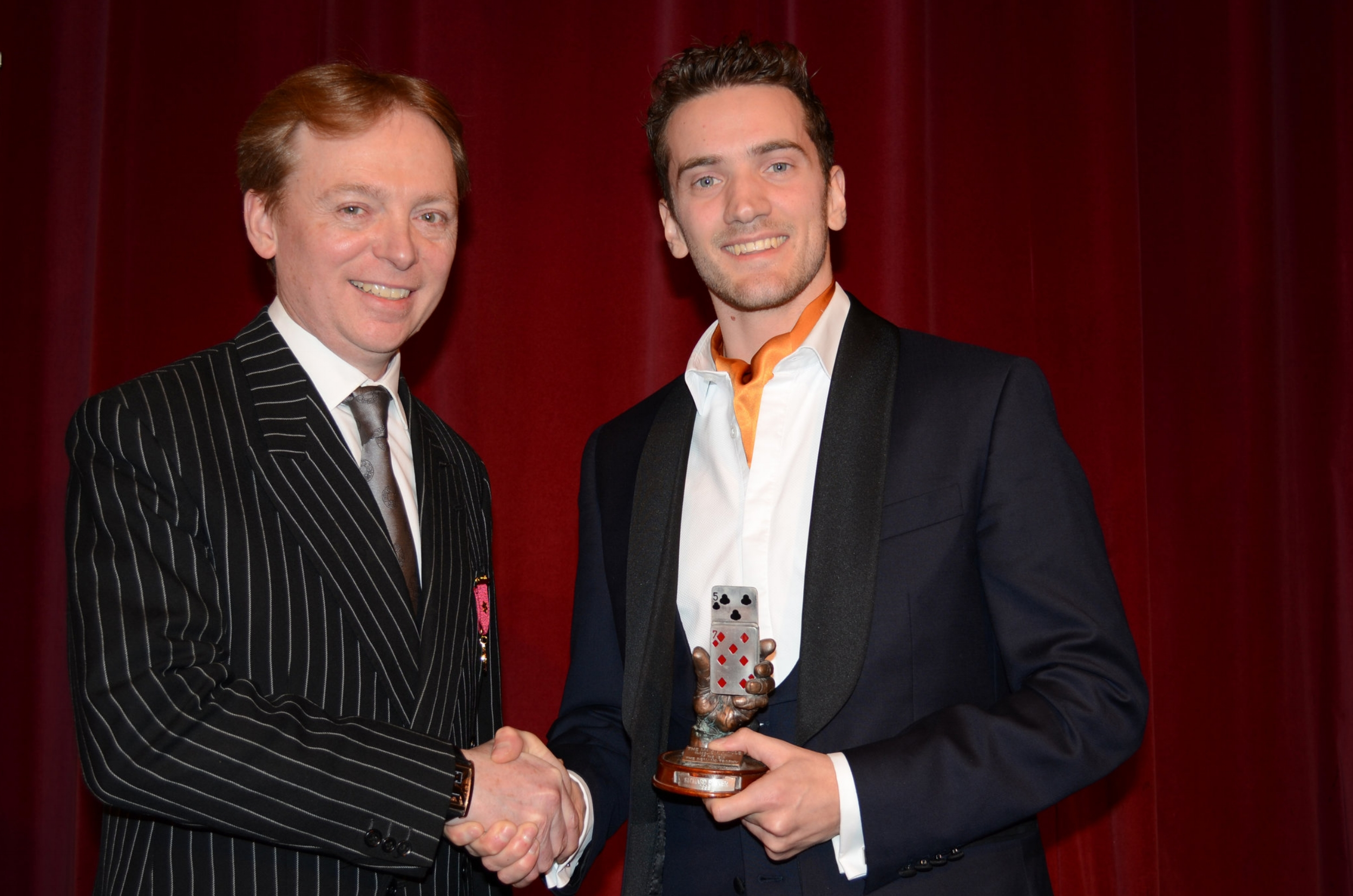 MAKING MAGIC HISTORY - THE MAGIC CIRCLEMatthew is awarded 'The Magic Circle Close-up Magician of The Year 2019' making it his third consecutive year to hold the title given by the worlds most prestigious magic organisation, a record which has never before been broken.