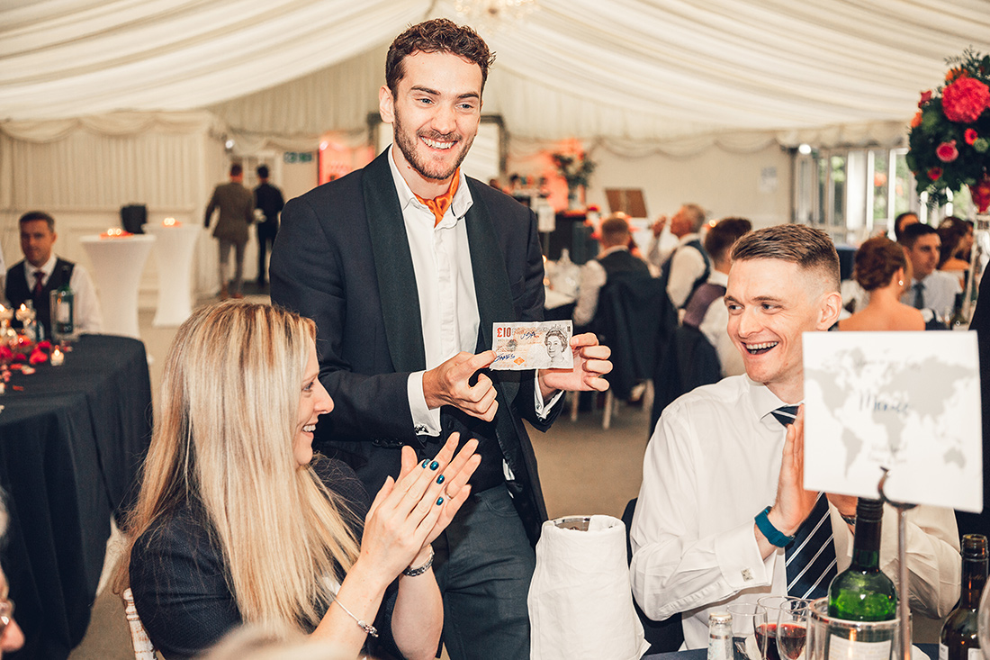 AWARD DINNERS - Create an electric atmosphere which sets the room alive. Guests will be thrilled with delight at the close-up miracles witnessed by the table side, a truly magical experience guaranteed to ignite even the most jaded of imaginations.