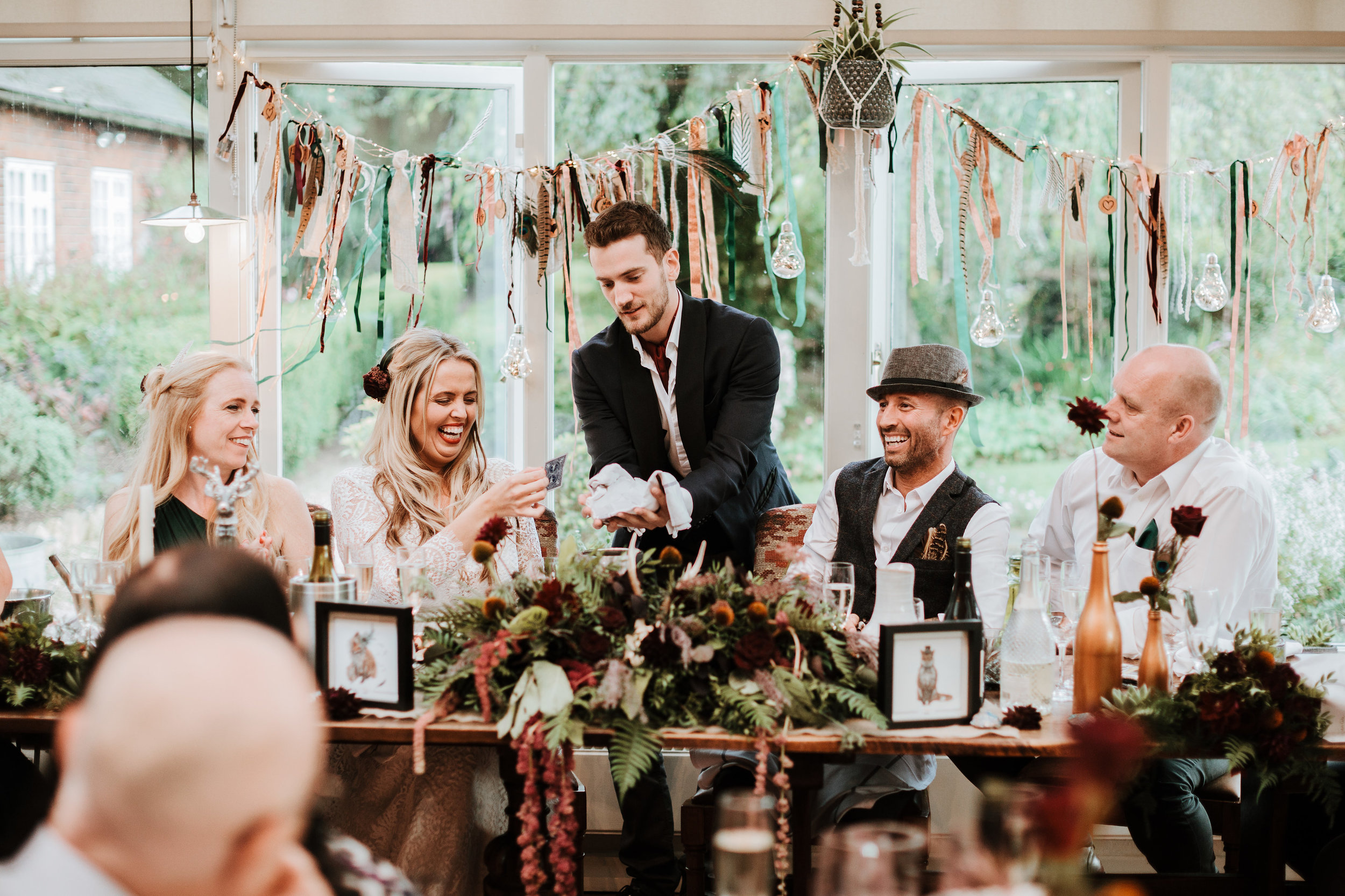 DAPPER DINING - Delightful Dinner Entertainment.Encourage interesting conversation and interaction with a hint of elegence and sophistication.