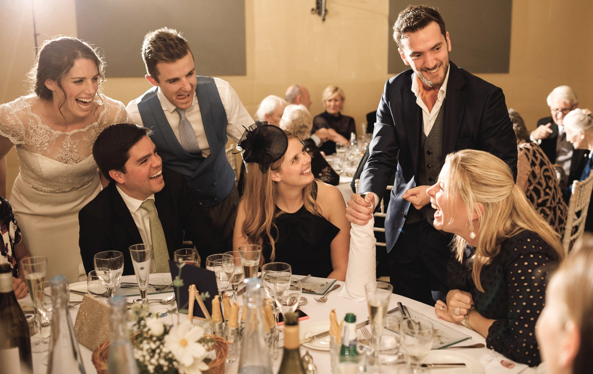 THE MAGICAL HOST - The Magical ToastmasterYour guests will be in safe hand throughout your wedding day. The ice is broken during reception drinks as guests are greeted with first class close-up magic. An exciting atmosphere is created during the meal, creating interesting conversation around the room.Guests are seamlessly introduced to each of the speeches and after the wedding breakfast the evening guests get have a taste of magic to give them a flavour of how the day has been so far.
