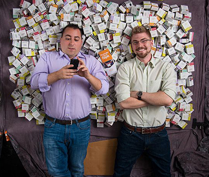 "David Simnick and Daniel Doll  SoapBox Soaps makes really amazing soap and wash products (try the Black Bar soap!). And they are also trying to change the world – every purchase of SoapBox soaps sends a bar of soap, fresh water, or vitamins to a child in need. David and Daniel are ""hustlers"" in the best sense of the world, with previous start-up experience and time at Teach For America and IBM."