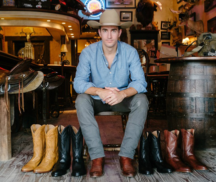 """Paul Hedrick  Paul is a native Texan. He made his way up to the Northeast for college and then stuck around in the """"Big City"""" for McKinsey and Private Equity at Catterton. However Paul always wanted to find a way to get back to Texas. Now he has. Tecovas sells hand-crafted, gorgeous cowboy boots in a smooth digital experience. Paul is now happy with Tecovas born and quartered in Austin. If you see us in cowboy boots in NYC you'll know why."""