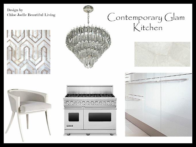 Chloe Joelle Contemporary Glam Kitchen.jpg
