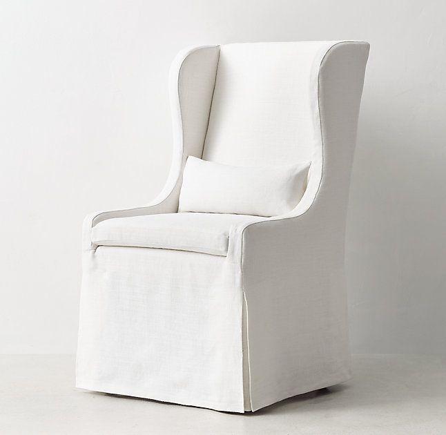 Faye Upholstered Slip Chair $399 - $699