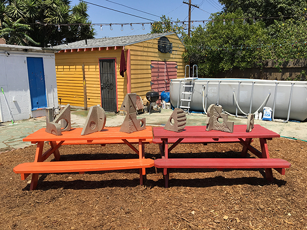 Residency and Exhibition     Outdoor Sculpture    Jazz Shack, Los Angeles, CA Summer 2016