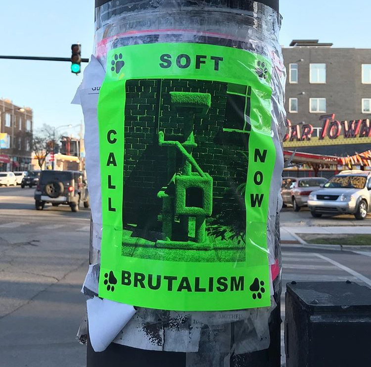 Soft Brutalism   Western Pole, Chicago, IL 2018