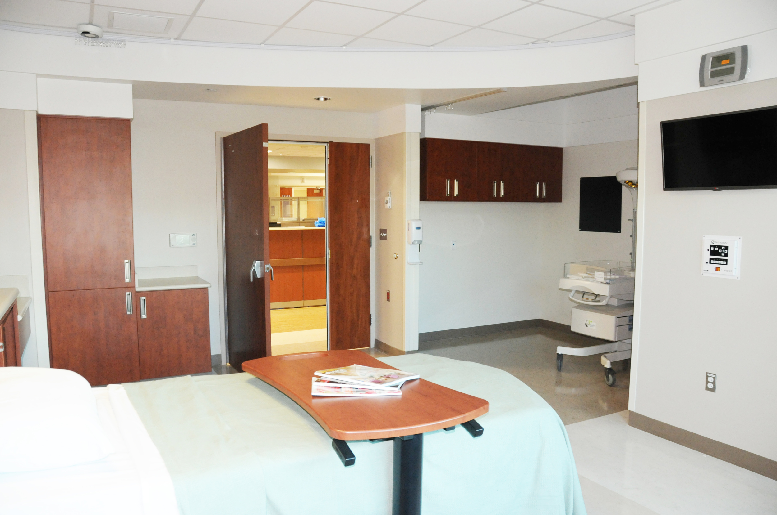 Labor and delivery room.