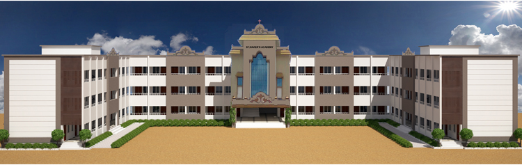 Artist rendering of the completed 3-storey school