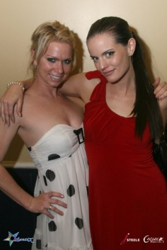 Hosts Amanda and Jennifer Steele