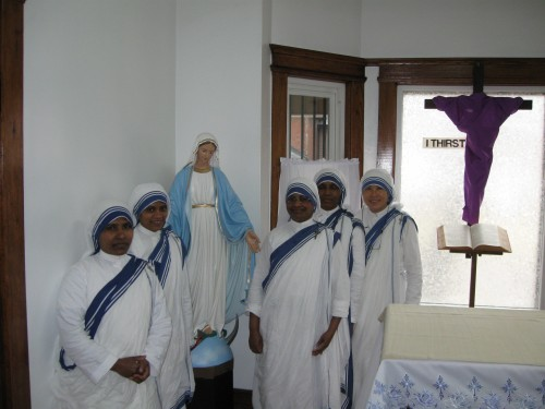 The Sisters with Mary