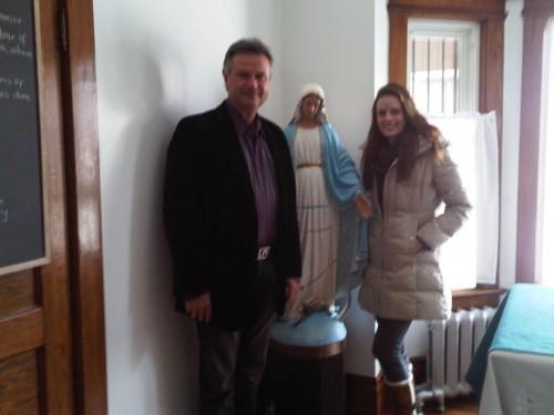Jennifer and Michael Steele, December 22, 2010
