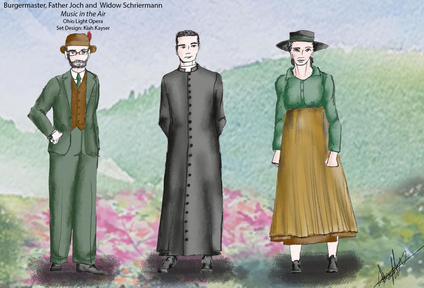 Burgomaster, Father Joch and Widow Schriermann.jpg