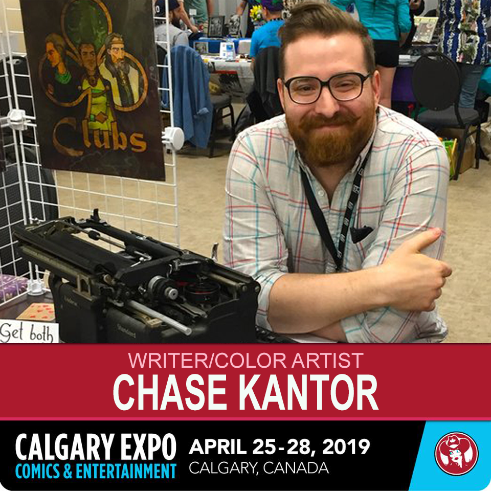 Series Creator - Chase Kantor showcases The Jack of Spades at 2019 Calgary Expo