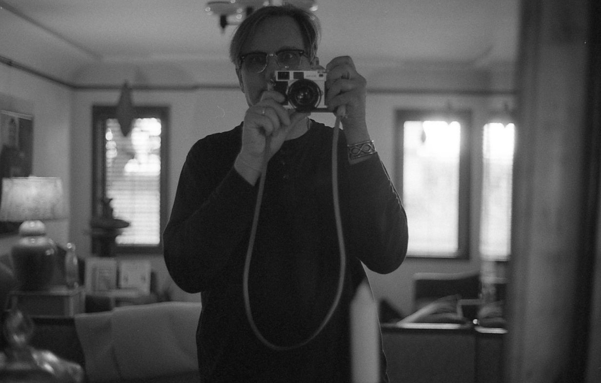 John recuperating at home on Yoko Ono's 85th birthday.
