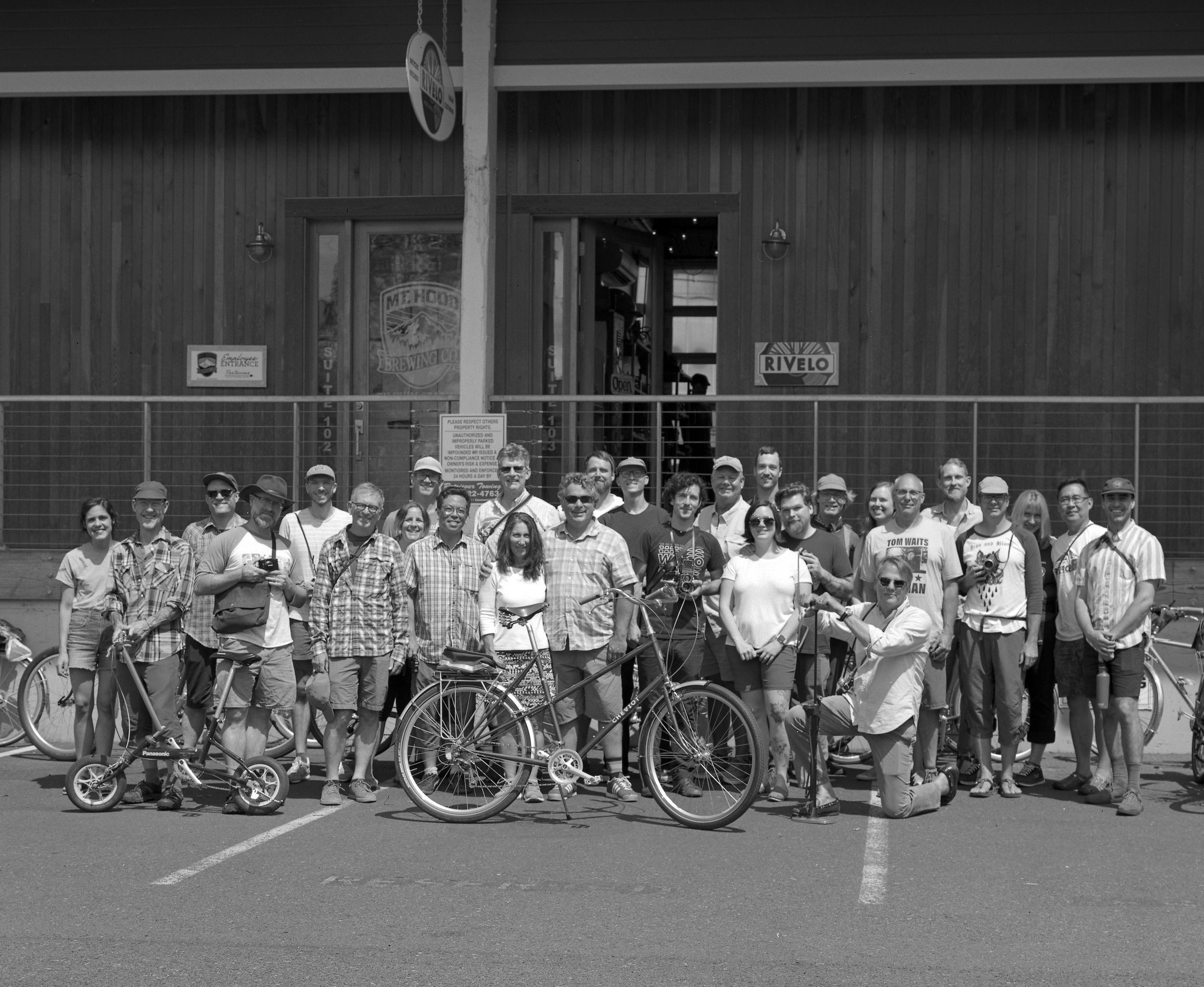 Will's super large scan of his group photo from our Rivelo Film Ride (7-27-19). No Darby because she pressed the shutter. Thank you to everyone who came out. Fun day!
