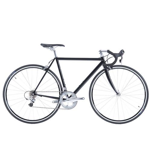 WABI LIGHTNING RE   •Our only geared bike •Columbus Spirit ultra-lightweight tubing •Hand tig welded frame •Carbon fiber fork