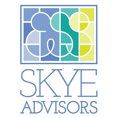 Skye Advisors   Skye Advisors brings portfolio management solutions to investors who are looking for returns without having to sacrifice the belief that they can earn sustainable, responsible profits. In contrast to cookie-cutter investment firms searching for short-term profits and increased fees, Skye Advisors applies conscious, active thinking to develop meaningful, collaborative, long-term solutions for their clients.