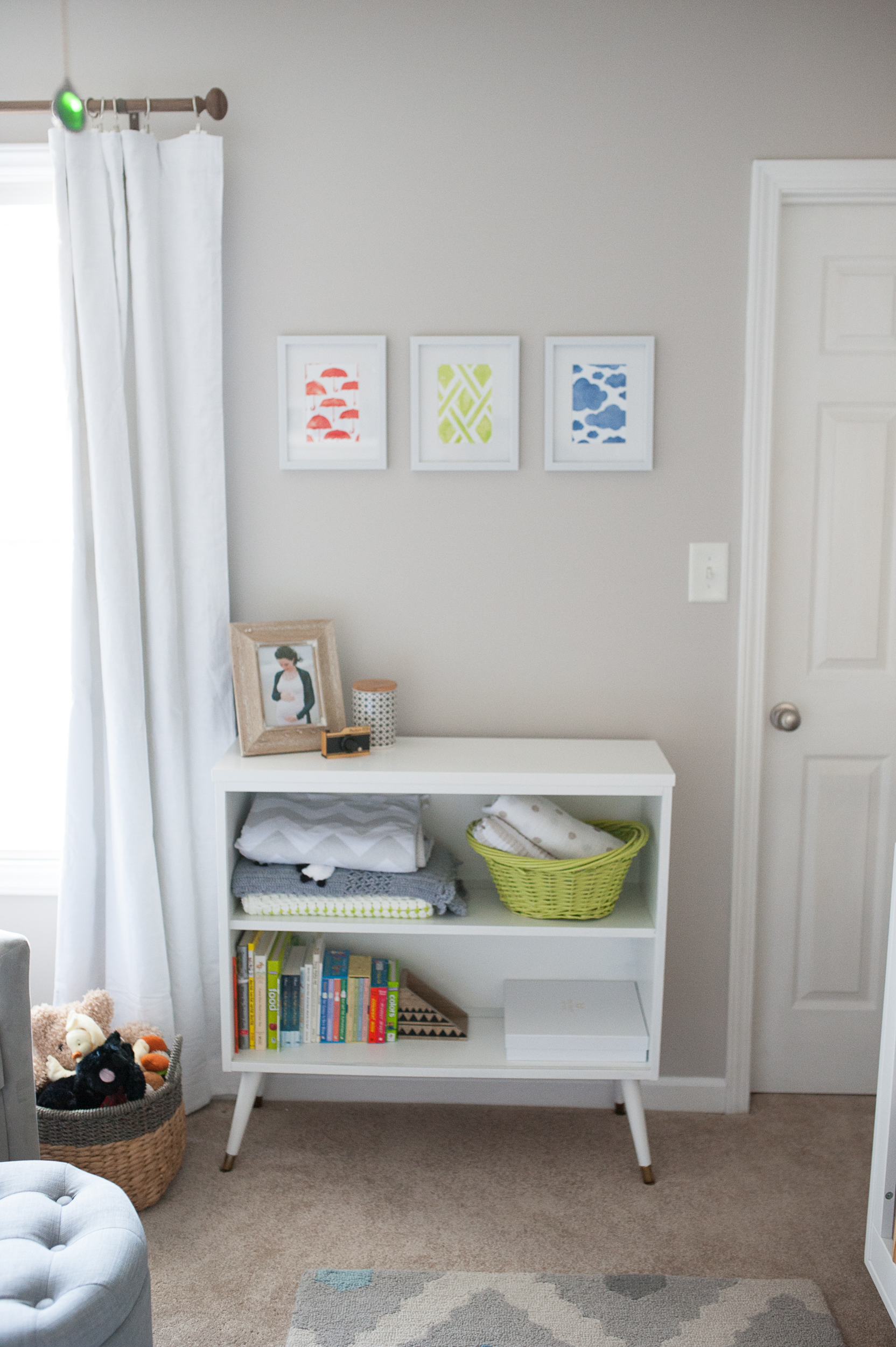 12.  blackout curtains from Pottery Barn Kids