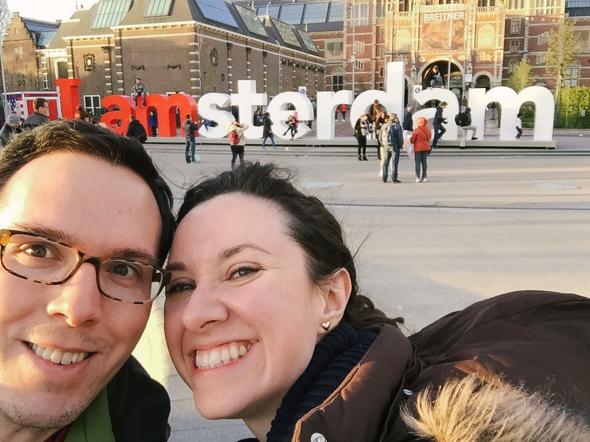 I amsterdam sign / Meseumplein / Amsterdam / iPhone 6