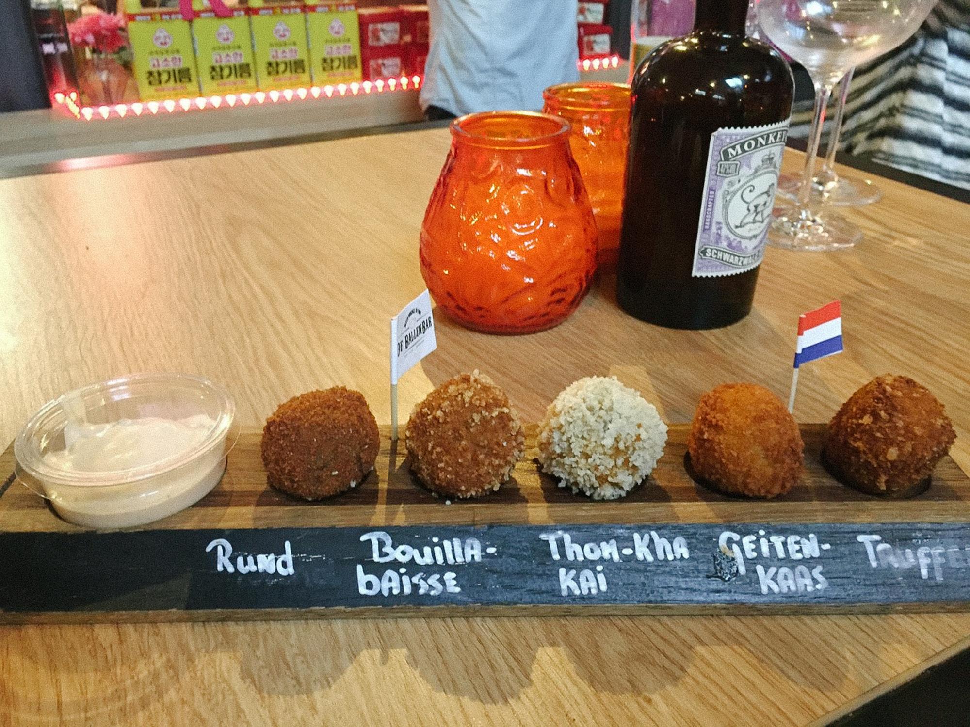 De Ballen Bar / Foodhallen / Amsterdam / iPhone 6