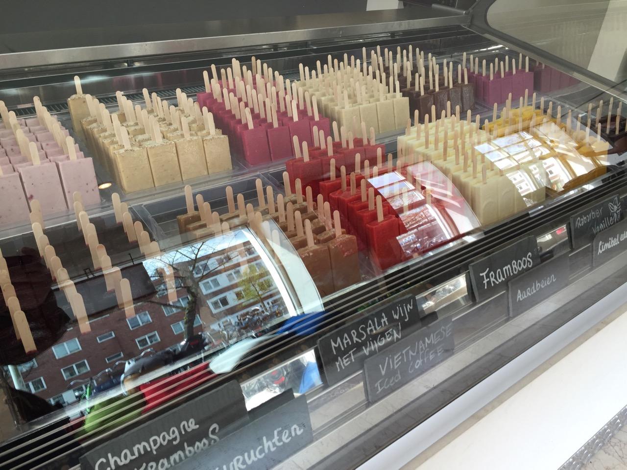 IJmanschap Popsicles / Amsterdam / iPhone 6