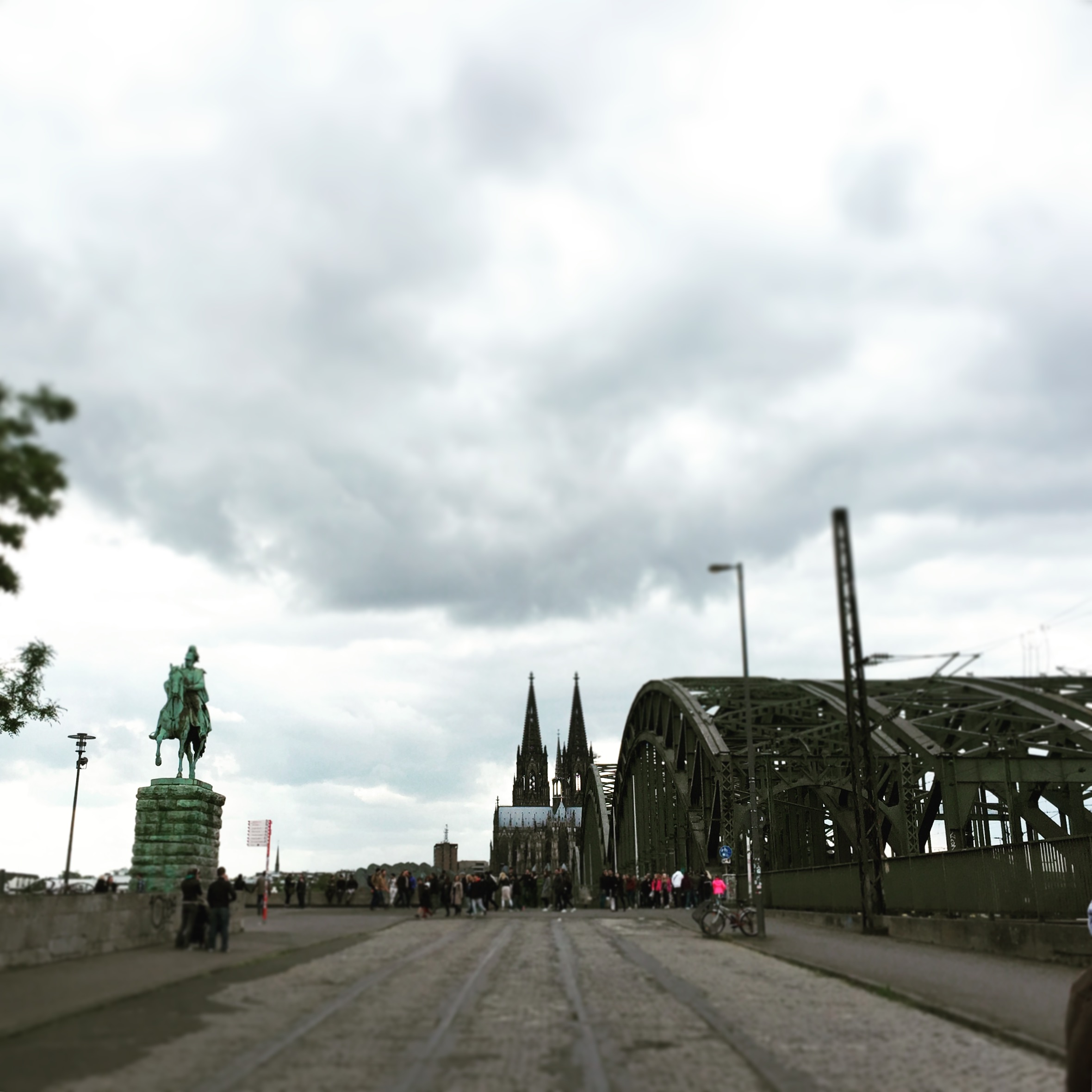 Hohenzollern Bridge | Cologne, Germany | iPhone 6