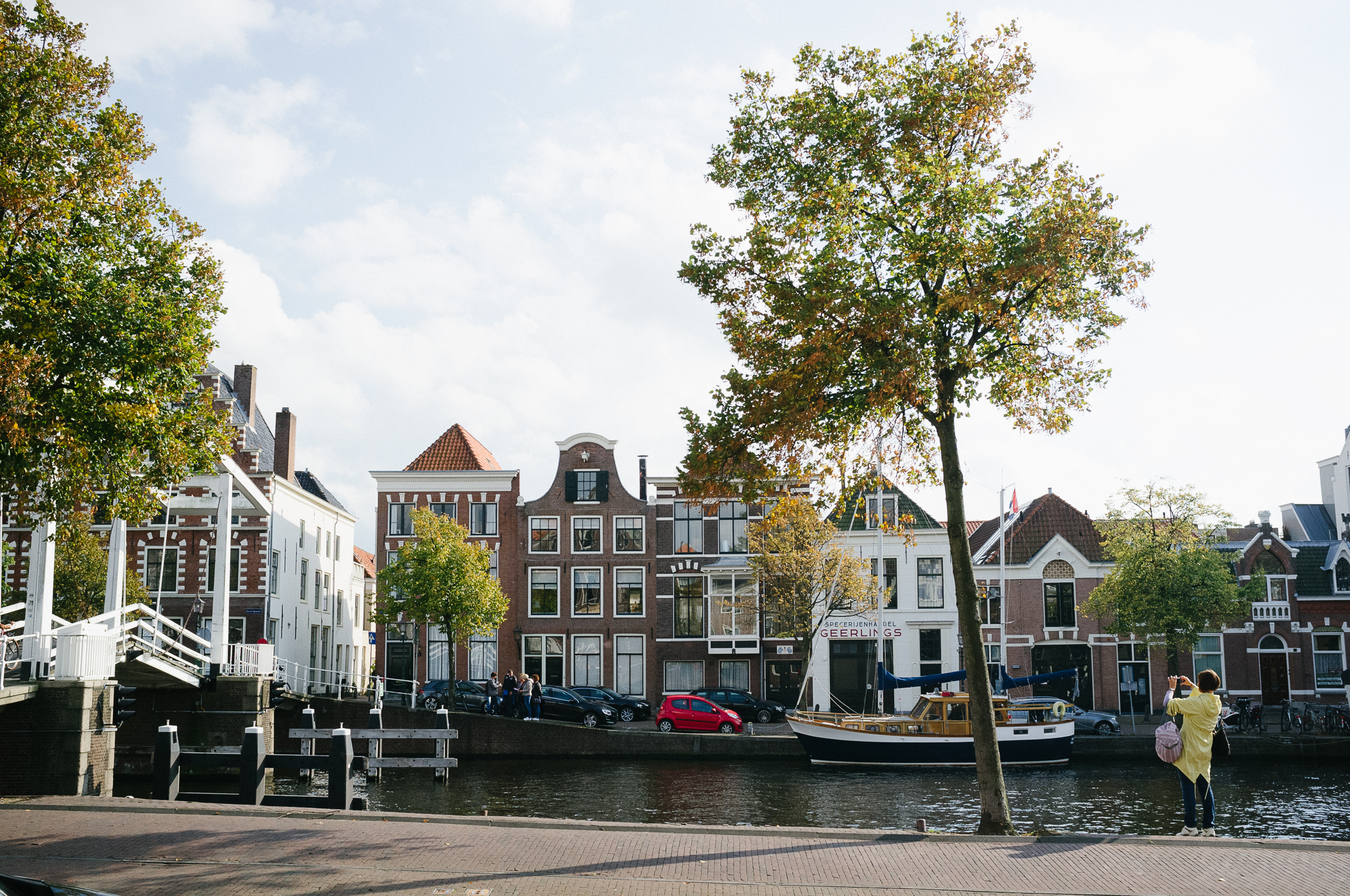 Dutch architecture abounds in Haarlem's streets.Photo taken with Fuji X100S, edited with VSCO.